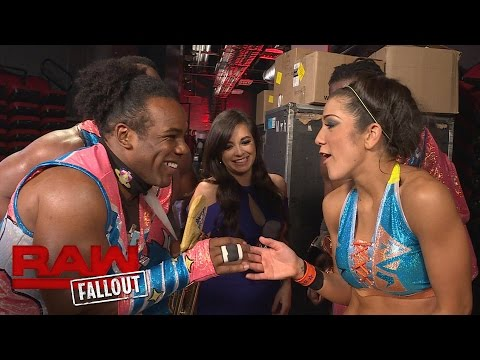 The New Day continue to welcome Bayley to Monday Night Raw: Raw Fallout, Aug. 29, 2016