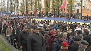 Ukraine : manifestation pro-européenne sans précédent depuis la Révolution orange