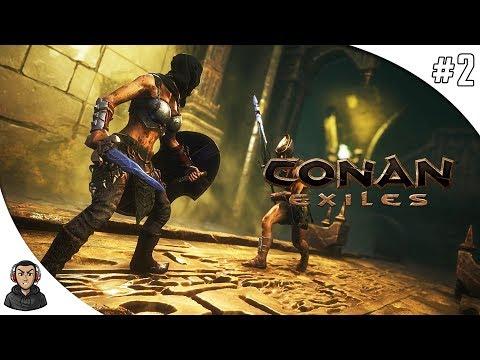 CONAN EXILES - UMA CASA MAIOR #2