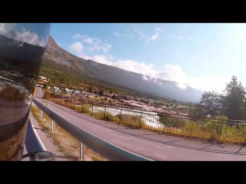 BMW k1200s Stryn to Otta Camping Norway touring Part 2
