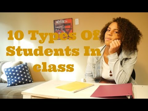 10 Types Of Students In Class