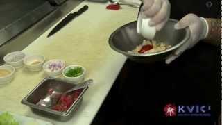 Ahi Poke And Fried Calamari Wrap Demo - Kalypso In Hanalei - Kvic-tv, Mykauai.com [chef Demo]