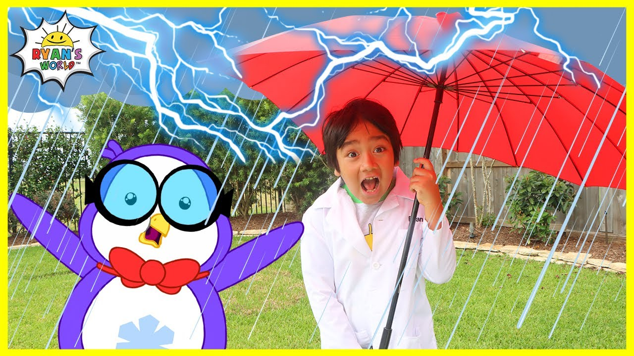 Download Ryan Learns about the Water Cycle | Educational Video for kids