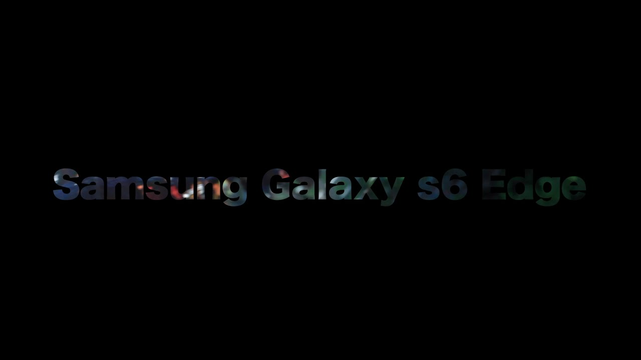 Samsung Galaxy S6 Edge Informationen-Ruben YT - YouTube