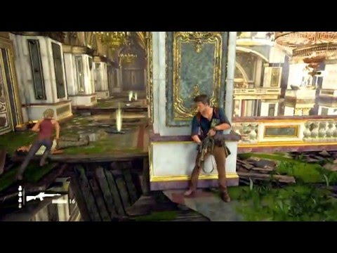 Uncharted 4: A Thief's End - Avery's Mansion (Crushing w/ guide in description)