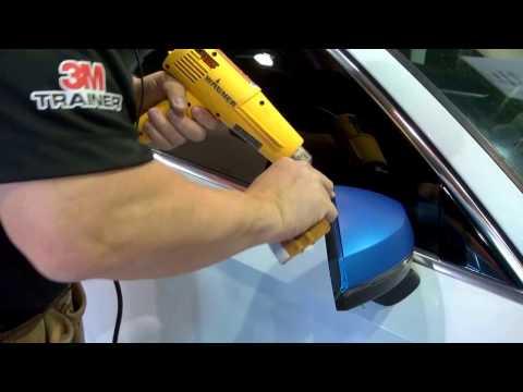 How to Wrap a Car Mirror