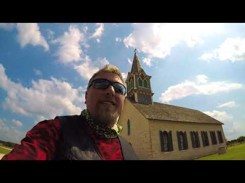 Mvlog The Old Rock Church Cranfills Gap Texas | Memorial Day Ride 2019