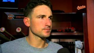 Ryan Flaherty on Bud Norris