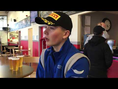 Billy Monger gets a podium on his racing return
