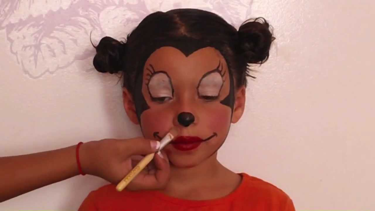 Minnie Mouse Makeup Tutorial - YouTube