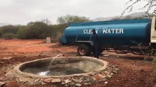 Completed waterhole at H12 Kipalo Hills Mbulia Conservancy
