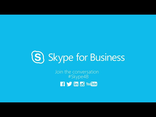 Skype for Business Quick Intro