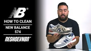 How To Clean #NewBalance 574s with
