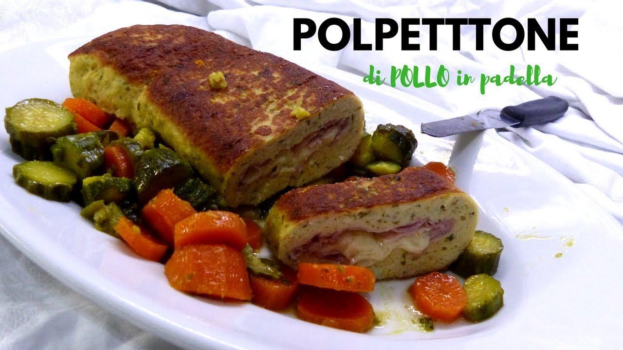POLPETTONE DI POLLO IN PADELLA Ricetta facile - RICETTE DI GABRI ...