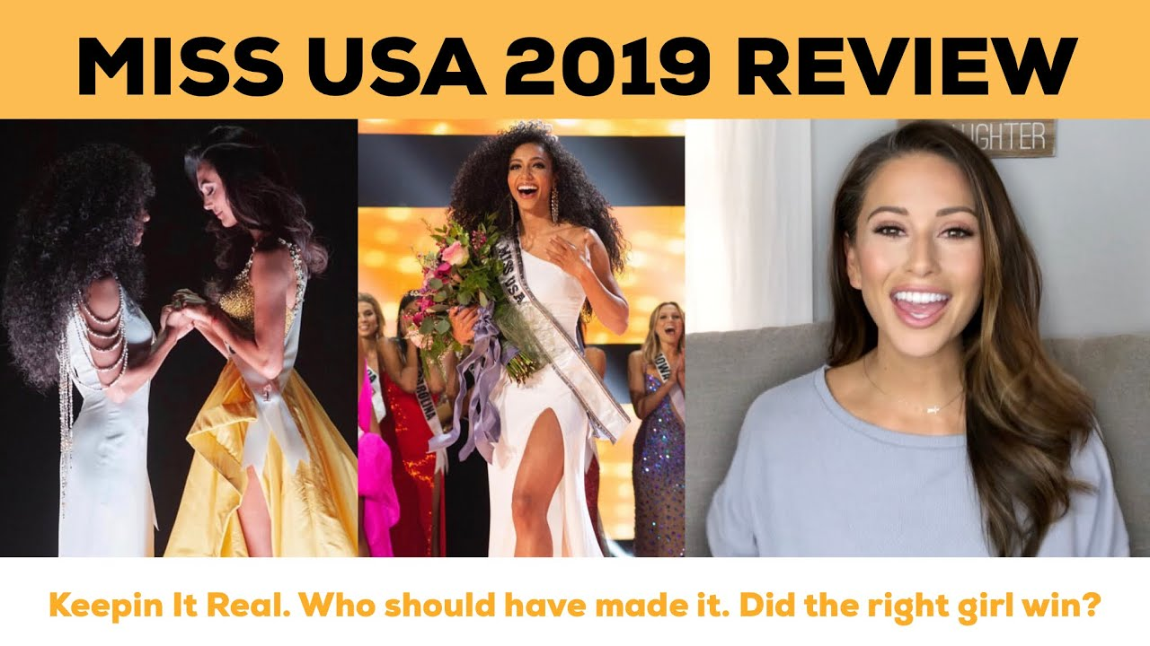 MISS USA 2019 REVIEW | By Miss USA 2014 & Miss Universe Runner Up | Nia  Sanchez