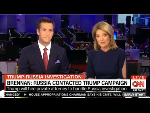 Early Start With Christine Romans and Dave Briggs 05/24: BRENNAN: RUSSIA CONTACTED TRUMP CAMPAIGN