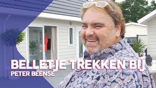 Peter Beense woont op een villapark!   Belletje trekken bij Peter Beense