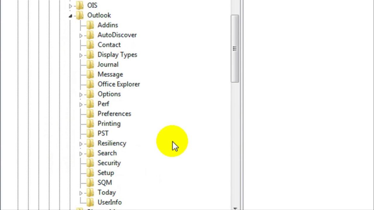 Không mở được file excel trong outlook 2010
