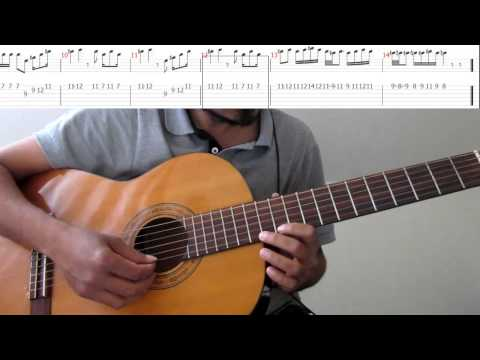 How To Ilayanila (song, Interludes) Lead Guitar - Tab, Notation + Slow Speed Fretboard Fingers