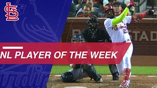 Ozuna takes National League Player of the Week honors