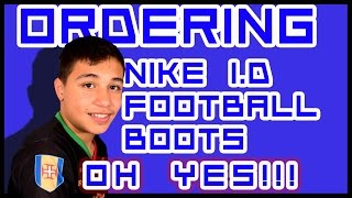 Yes!! ordering my nike id football boots