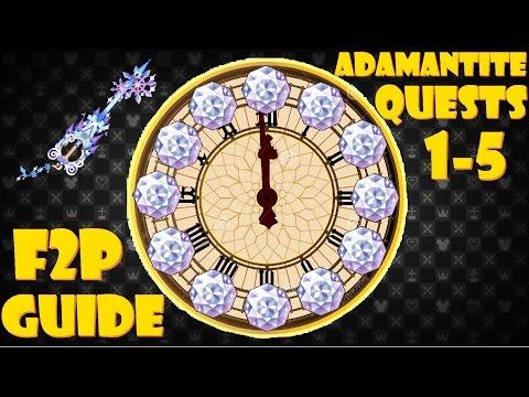 Stroke of Midnight Adamantite Ore Quest - KHUx F2P
