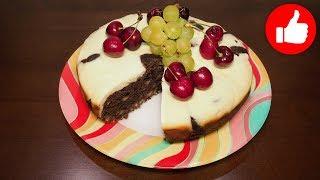 Что приготовить к чаю вкусный орехово шоколадный кекс в мультиварке, рецепт #рецепты для мультиварки