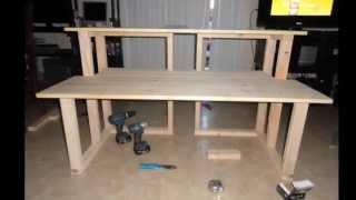 Studio Desk Homemade