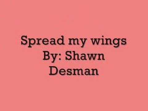 Spread my wings-Shawn Desman