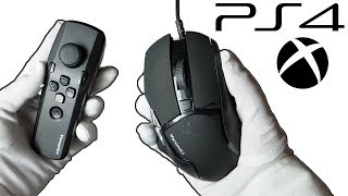 MOUSE FOR ALL CONSOLES - LEGIT CHEATING? (PS4 & Xbox) Unboxing Venom-X4 Controller Call of Duty WWII
