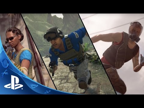 UNCHARTED 4: A Thief's End (5/10/2016) - Multiplayer Trailer | PS4