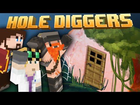 Minecraft - Return To Ham Base - Hole Diggers 39