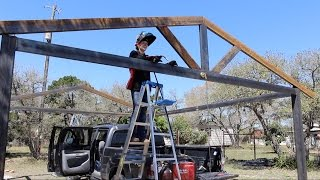 How to Build a Metal Carport - Part 1