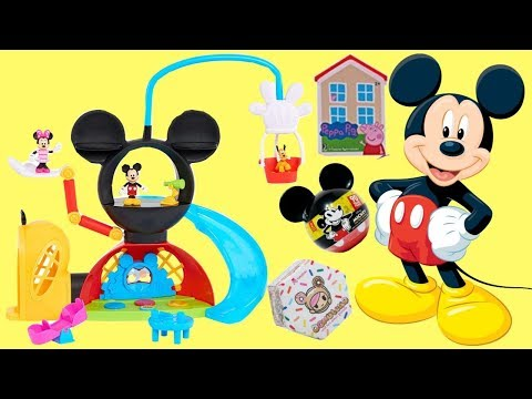 Playing With Mickey Mouse Clubhouse Adventure Play Set