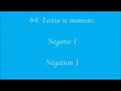Curs audio de limba Franceza Intermediar - Lectia 10 from YouTube · Duration:  34 minutes 12 seconds