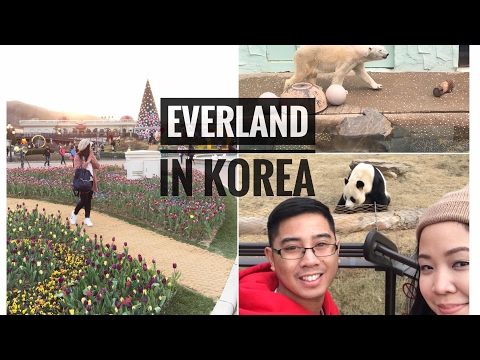 KOREA Vlog #4: EVERLAND Theme Park + Tulip Festival  🌷🇰🇷💗 | Raych Ramos