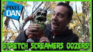 Stretch Screamers Oozers Drooler Slime Monster Toy Video Review