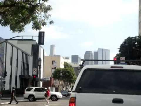 Wilshire Boulevard, Downtown LA..