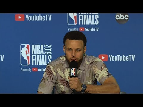 stephen-curry-postgame-interview---game-3-|-raptors-vs-warriors-|-2019-nba-finals