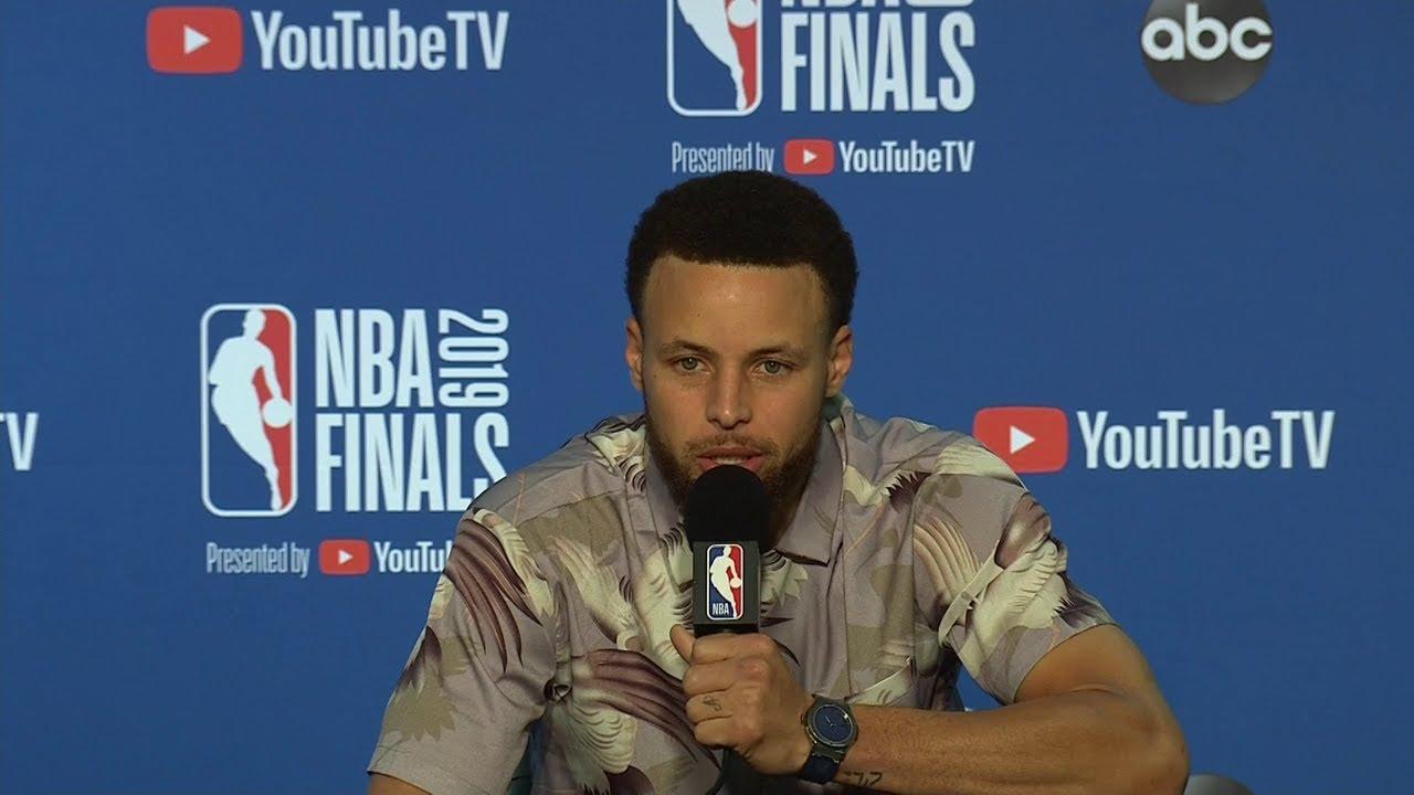 Stephen Curry Postgame Interview - Game 3 | Raptors vs Warriors | 2019 NBA Finals