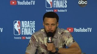 Stephen Curry Postgame Interview - Game 3 | Raptors vs Warriors | 2019 NBA Finals