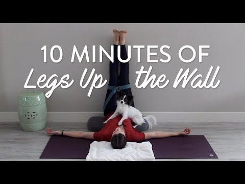 10 Minutes of Legs Up the Wall Pose | Viparita Karani