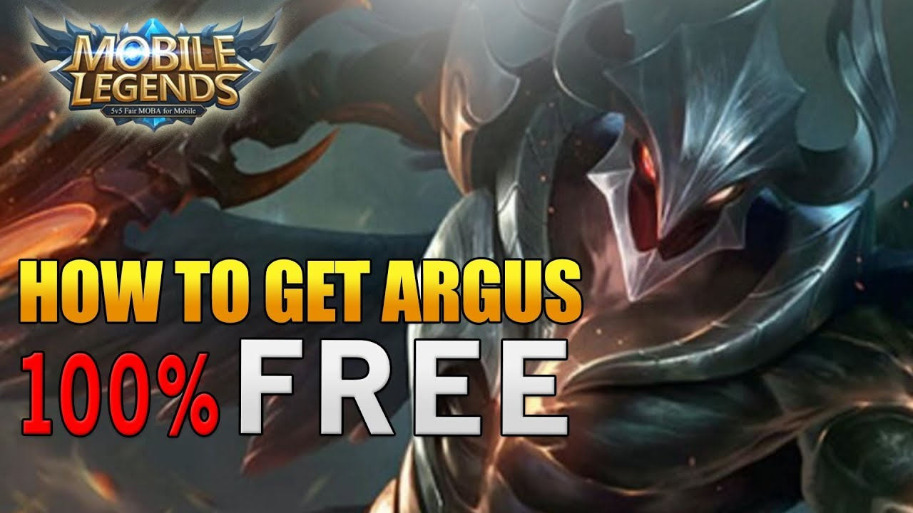 How To Get New Hero Argus Free Mobile Legends YouTube