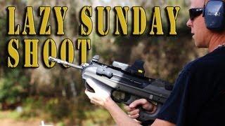 Lazy Sunday Shoot