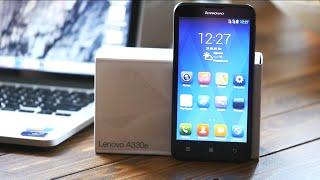 Обзор смартфона Lenovo A330E (GSM + CDMA)(, 2015-10-08T12:22:38.000Z)