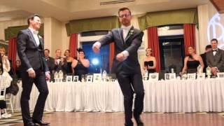 Paul and Paul 2014 Wedding Entrance Dance
