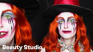 Mad hatter transformation for Halloween by Indy 🎃 - Beauty Studio