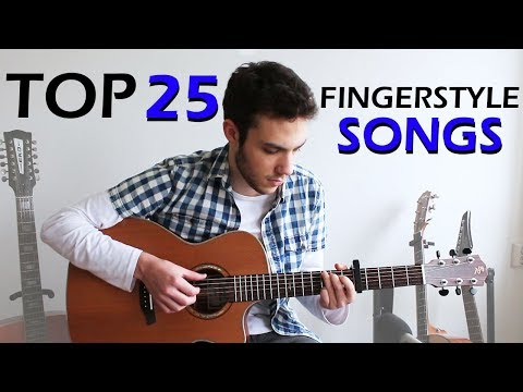 TOP 25 - Cool FINGERSTYLE Guitar Songs (pt. 2)