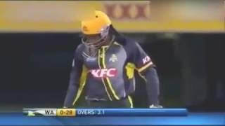 'Chris Gayle 101 runs in  22 balls Fastest Century in history
