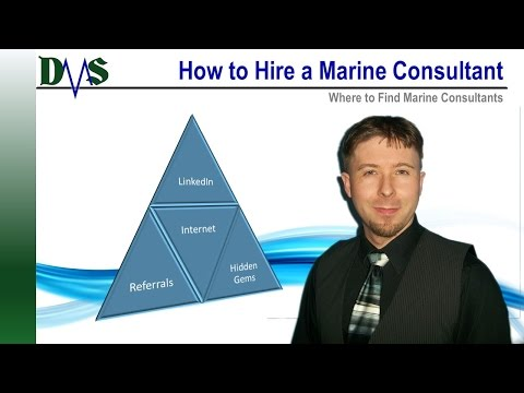 Where to Find Marine Consultants